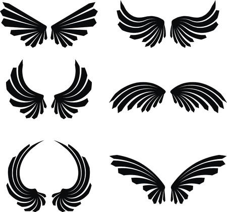 wings set pack  Illustration