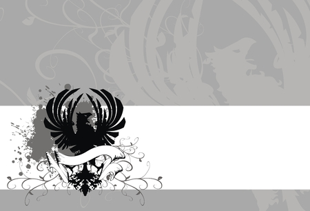heraldic eagle background