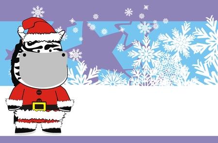 zebra cartoon background in vector format Stock Vector - 8344530