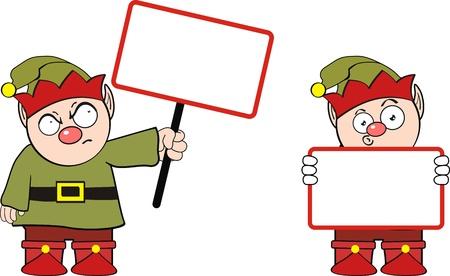 elves: elf cartoon