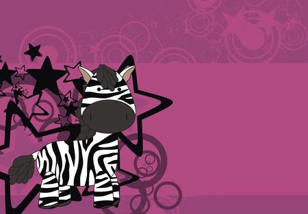 zebra cartoon background