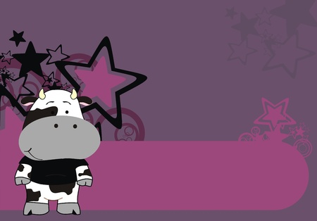 backgrounds: cow  cartoon background