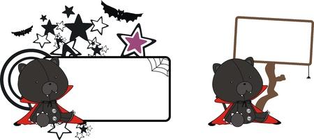 celebartion: panther  dracula cartoon