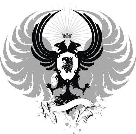 heraldic eagle double head coat of arms