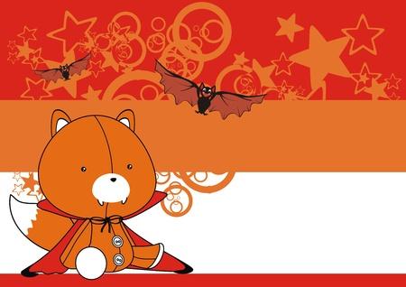 fox  bat cartoon wallpaper Illustration