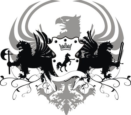 axes: heraldic coat of arms
