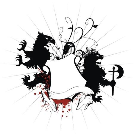 axe: heraldic coat of arms