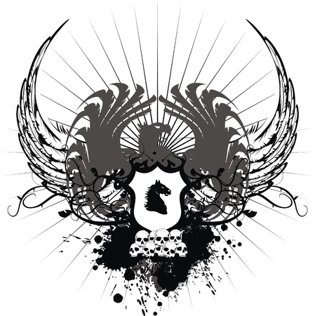 desing: heraldic coat of arms