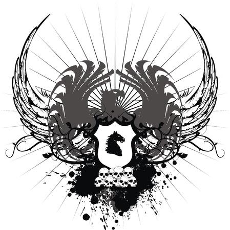 Heraldische wapen  Stockfoto - 8520238