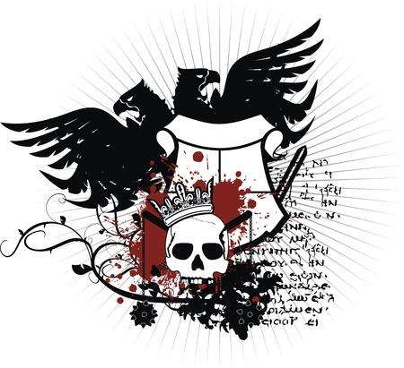 Heraldische wapen  Stockfoto - 8520201