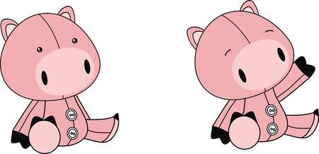 plush: pig plush cartoon