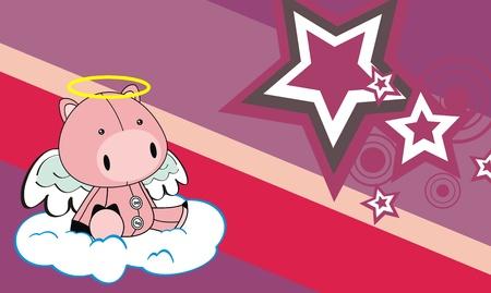 varken angel cartoon achtergrond