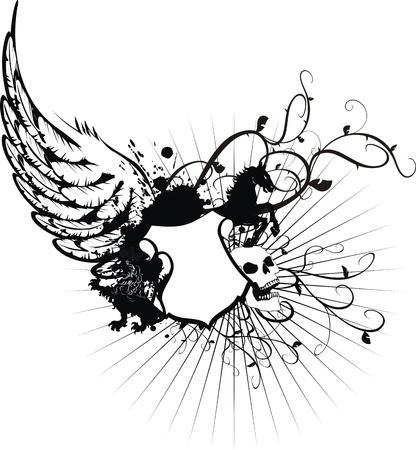 heraldische wapenschild tshirt in formaat zeer eenvoudig te edit5