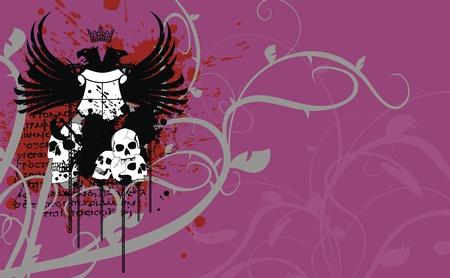 heraldic coat of arms background in format very easy to edit7 Vector