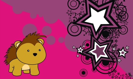 porcupine: porcupine baby cartoon background in vector format