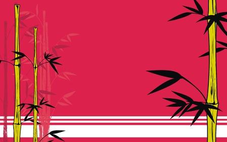 hintergr�nde: Bambus-Hintergrund