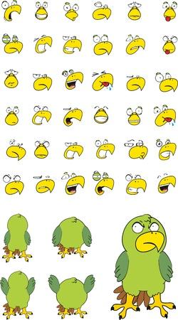 perico: conjunto de dibujos animados de Perico