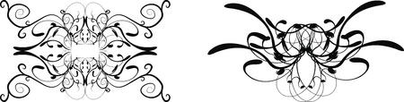 髪飾りセット ベクトル形式で 写真素材 - 9680288