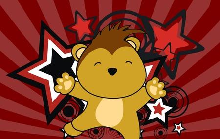 porcupine: porcupine jump cartoon background