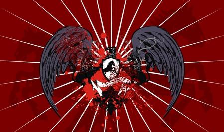 heraldische wapen achtergrond