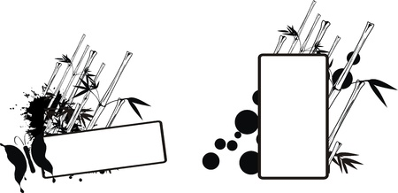 copysapce: bamboo copysapce in vector format