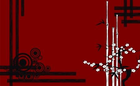 ベクトル形式の日本語を背景します。  イラスト・ベクター素材