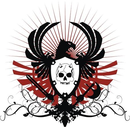 Manteau héraldique des armes au format Banque d'images - 14743803