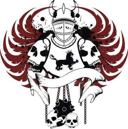 heraldic coat of arms in  format Vector