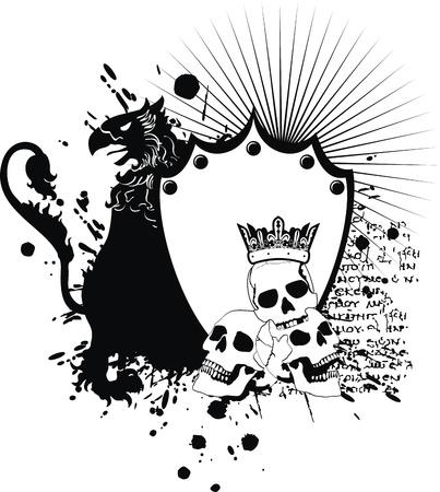 heraldische wapenschild in het formaat