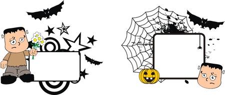 clipart frankenstein: frankenstein kid halloween