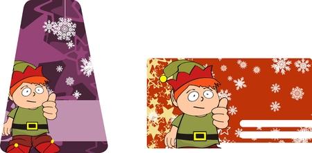 copysapce: xmas   kid sticker card
