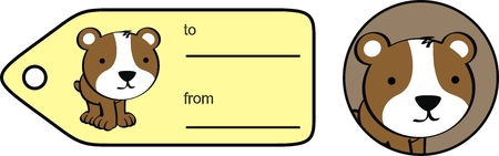 ベクトル形式のハムスターかわいいステッカー copyspace 写真素材 - 27290293