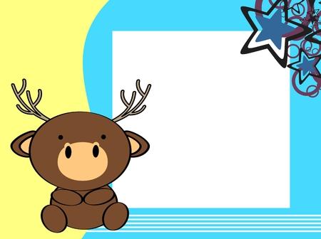 baby deer: cute baby deer background in vector format
