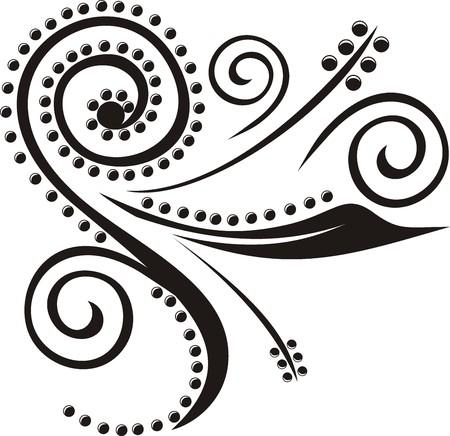 vector ornamento, cada uno de los objetos  Ilustración de vector