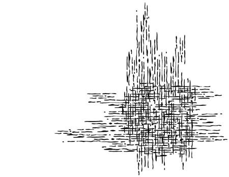 抽象的なテクスチャ、簡単に個々 のオブジェクトを編集するには