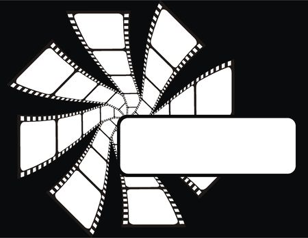 film background in vector file, very easy to edit