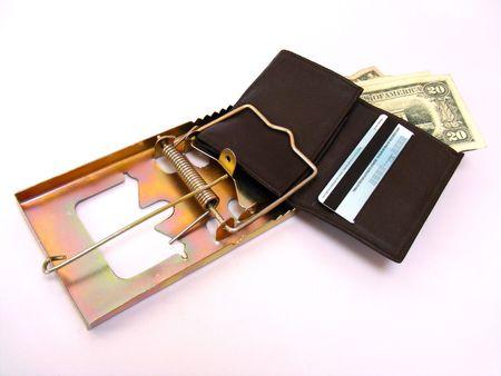 metaphoric image showing extreme method to save money
