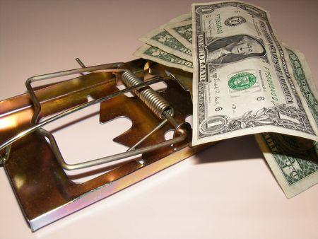 metaphoric image showing extreme method to save money Stock Photo - 3211795