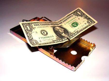 metaphoric image showing extreme method to save money Stock Photo - 3211768