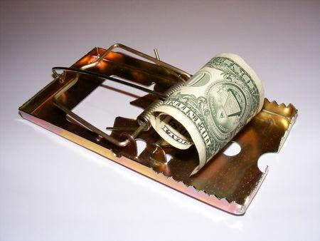 metaphoric image showing extreme method to save money Stock Photo - 3211778