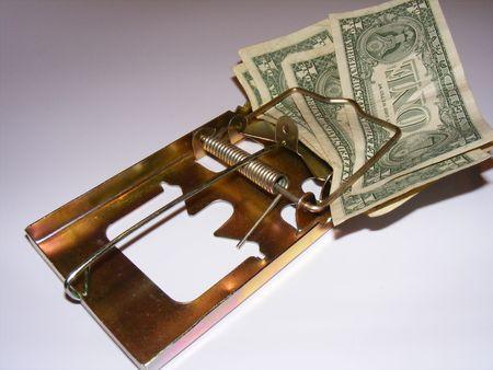 metaphoric image showing extreme method to save money Stock Photo - 3211796