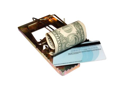 metaphoric image showing extreme method to save money Stock Photo - 3214484
