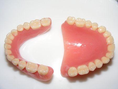 Photo d'un dentier Banque d'images - 3481875