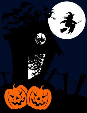 halloween related in vector format very easy to edit Stock Vector - 3639098