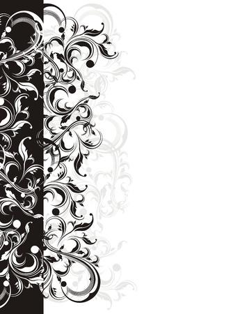 vector floral ornaments very easy to edit Vector