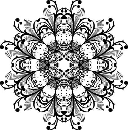 vector ornament zeer gemakkelijk te bewerken