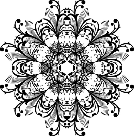 vector ornament very easy to edit