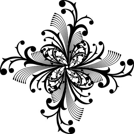 abstract ornament zeer gemakkelijk te bewerken