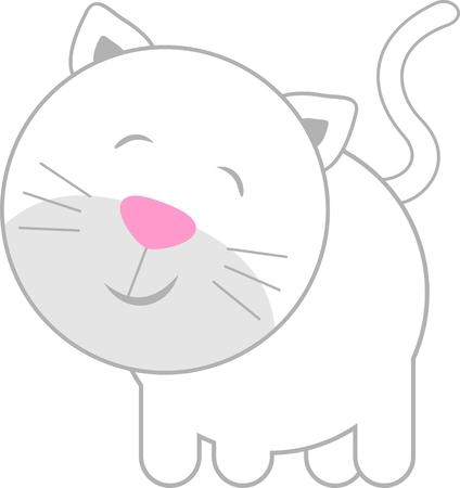 Lindo gatito bebé Foto de archivo - 4624787