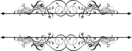 geïsoleerde vector design elementen zeer gemakkelijk te bewerken